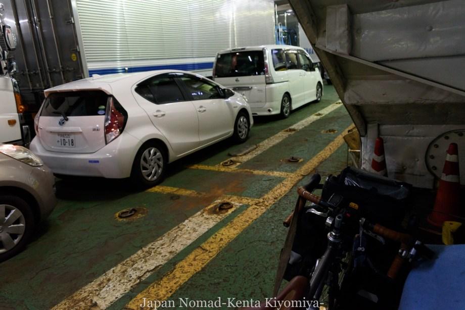 自転車日本一周119日目(さらば北海道)-Japan Nomad (5)