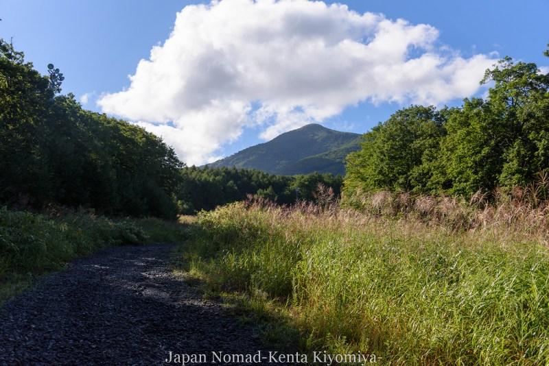 自転車日本一周123日目(岩木山)-Japan Nomad (22)