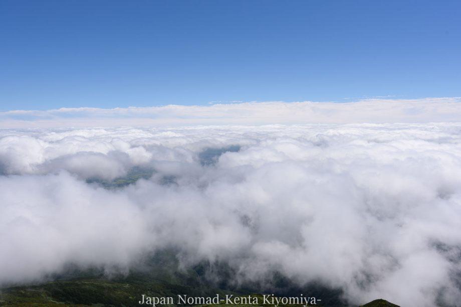 自転車日本一周123日目(岩木山)-Japan Nomad (67)