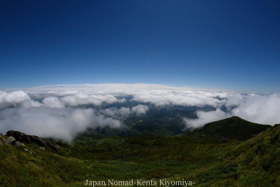 自転車日本一周123日目(岩木山)-Japan Nomad (70)