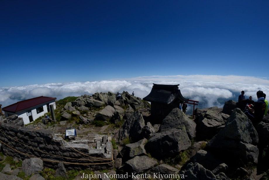 自転車日本一周123日目(岩木山)-Japan Nomad (72)