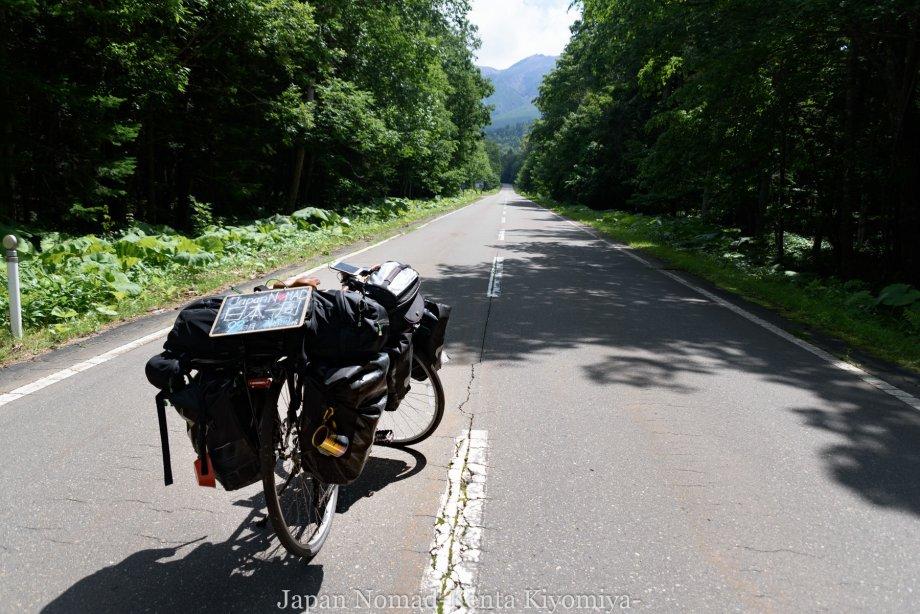 自転車日本一周99日目(オンネトー、雌阿寒岳)-Japan Nomad (6)