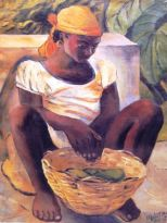 Peasant Girl, Haiti (1954)