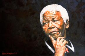 Nelson Mandela by Greg Norman