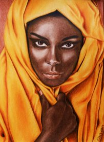 African beauty by tacsitimea