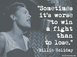 """""""Sometimes it's worse to win a fight than to lose."""""""