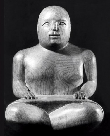Seated Sarong Figure 1938 Ronald Moody