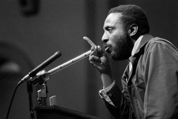 Dick Gregory speaking at Ohio University 02-11-1968