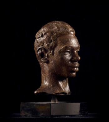 Richmond Barthé Head of a Negro Man