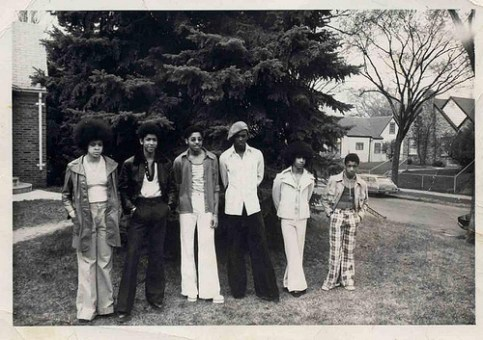 Grand Central: Linda Anderson, André Cymone, Morris Day, Terry Jackson, Prince, and William Doughty