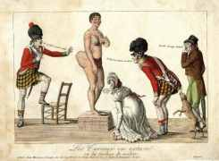 A nineteeth century image of Saartjie Baartman (picture via Jezebel)
