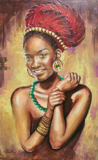 Zulu maiden by Phillip Steyn
