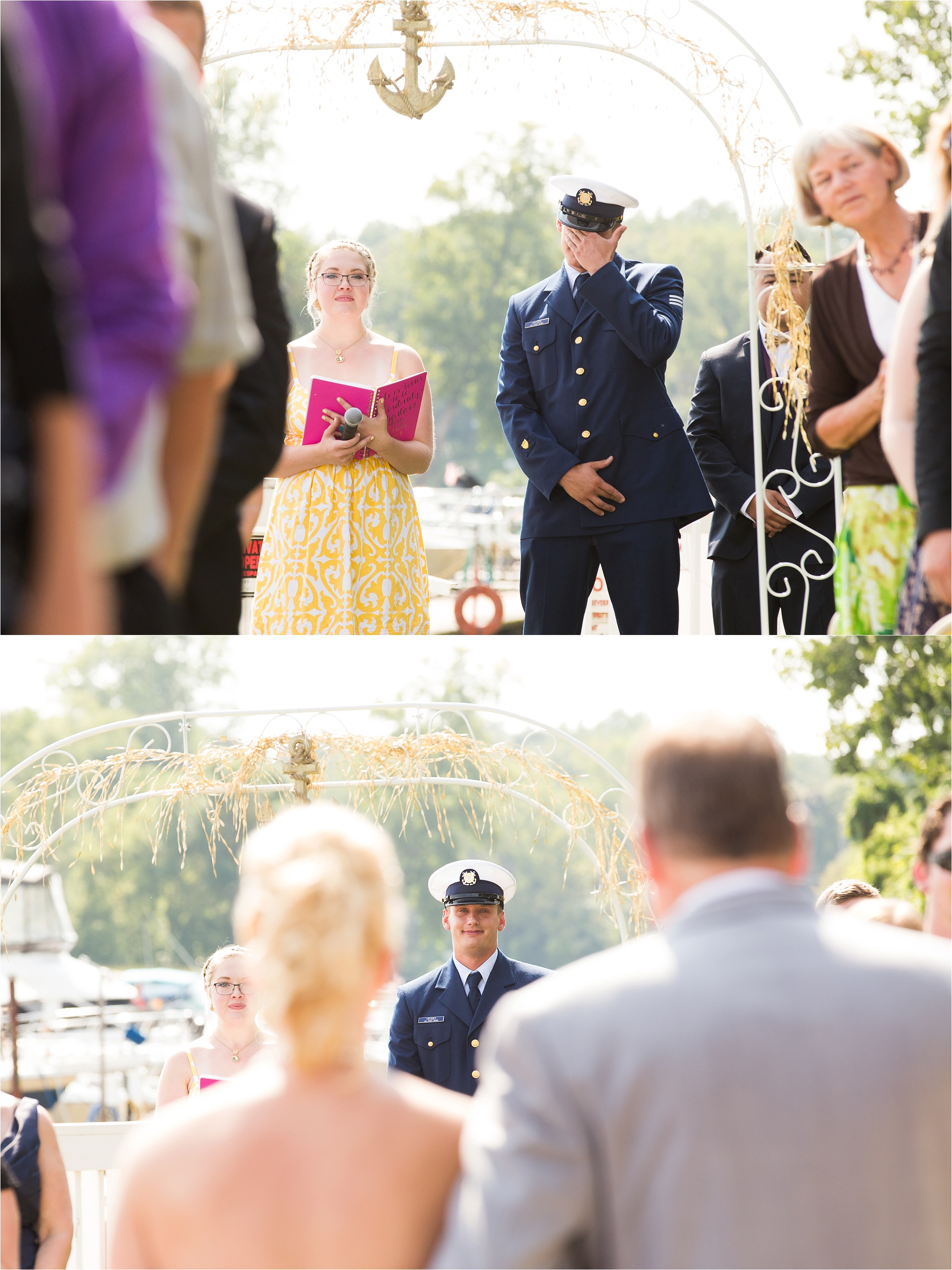 Marcus Amp Lizzy A Nautical Wedding At Maumee River Yacht