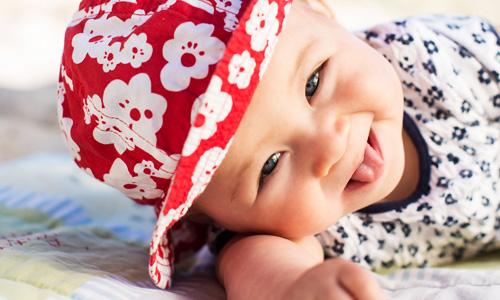 barn bebis porträtt