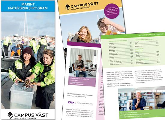 campus väst katalog reklamfoto