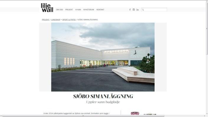 Liljewall arkitektur fotograf skåne