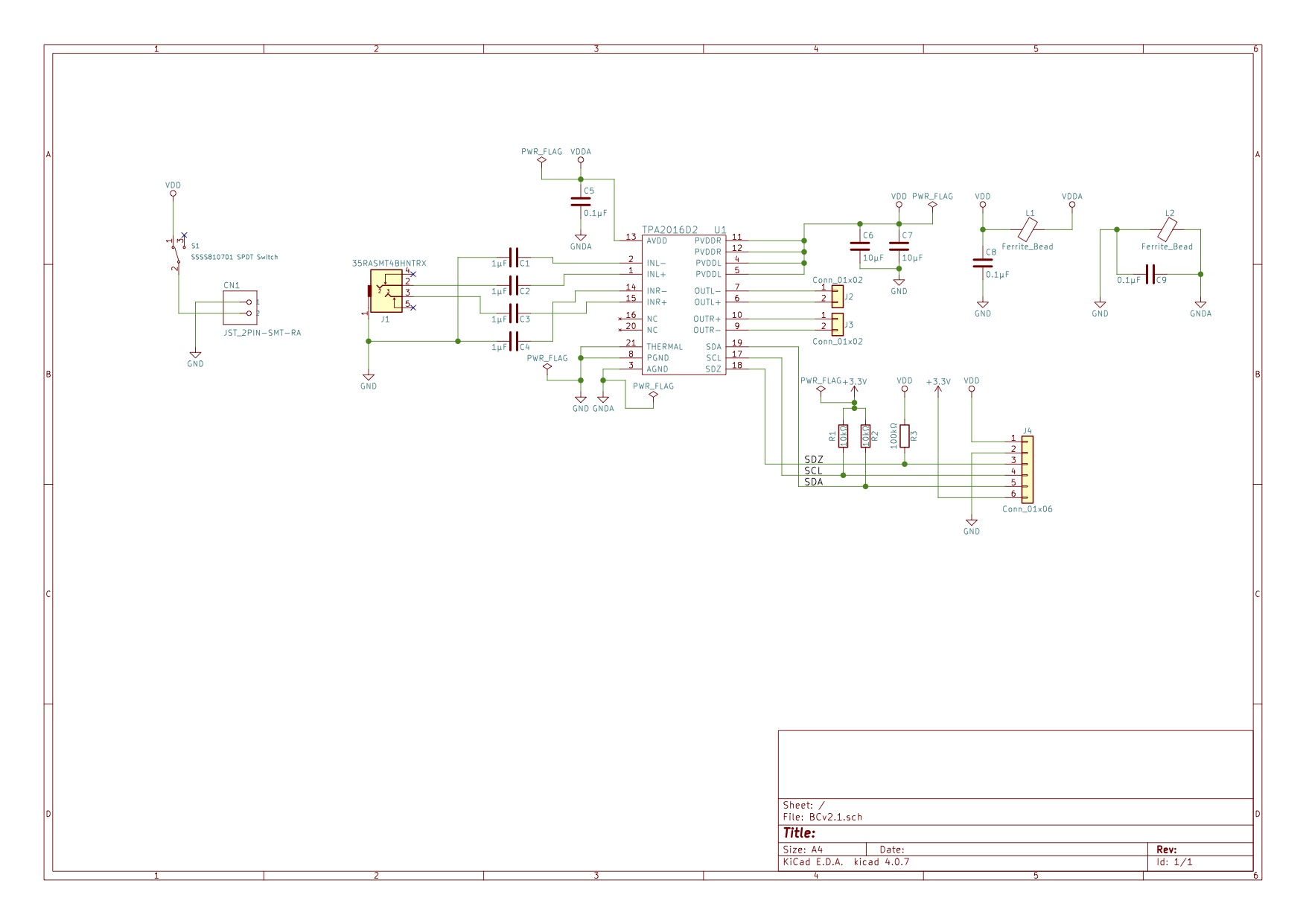 hight resolution of from previous failure i redesigned the schematic