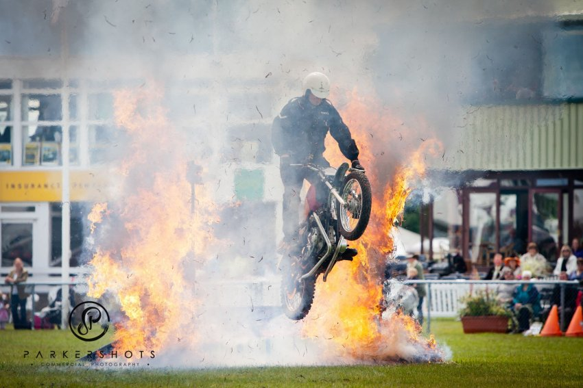 Action photography from South of England Show
