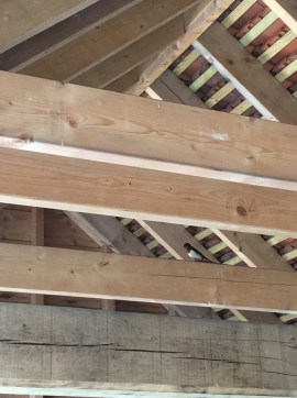 swallow barn rafters