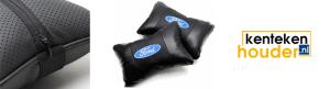 Ford-lederen-hoofdsteun-kussen