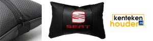 Seat-lederen-hoofdsteun-kussen
