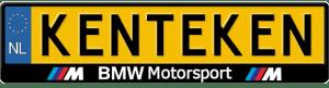 BMW-motorsport-kentekenplaathouder