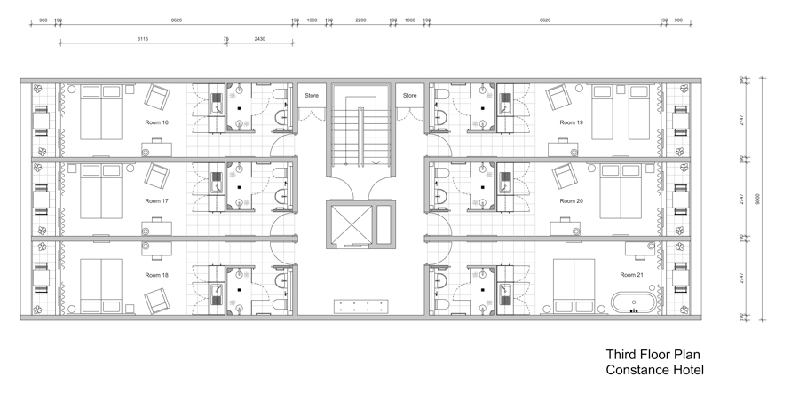 Space Planning Drawings » KENT GRIFFITHS DESIGN