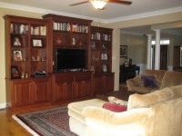 Living Room with Entertainment Center | Kenton Construction