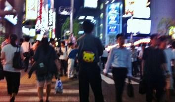 Hot night in Shimbashi 1 pokemon pikachu