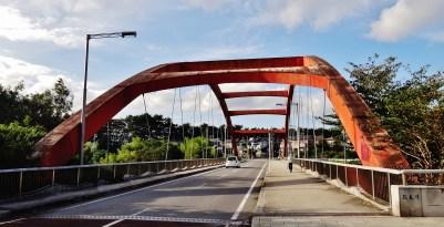 Hanami River Chiba 4 red bridge