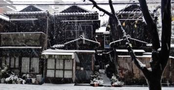9 - Kamiyacho old house Tokyo snow