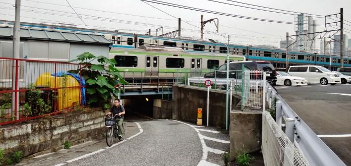 Shinagawa tunnel west
