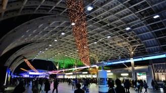 Saitamashintoshin Station ceiling lights