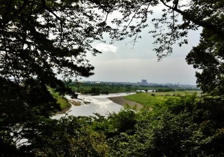 Tamagawa overlook Futakobashi koen park