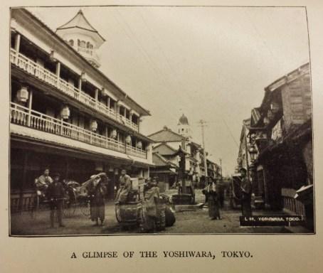 "Yoshiwara, Tokyo in 1896, form ""Yankees of the East"""