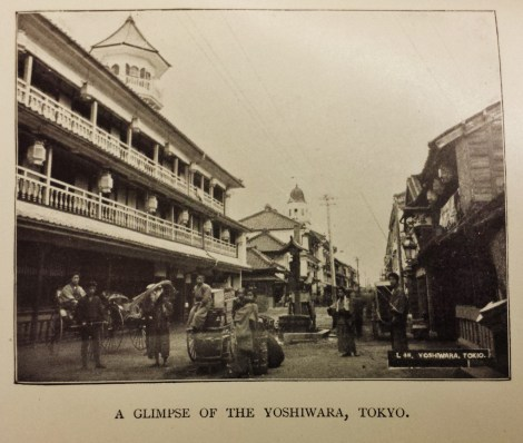 "Yoshiwara, Tokyo in 1896, form ""Yankees of the East"""