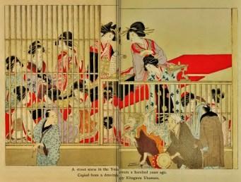 Yoshiwara bordello women 1800