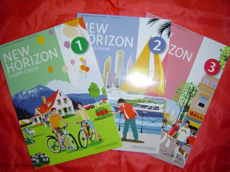 New Horizon, a classic English textbook in Japan