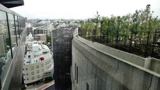 Bridge between Meguro Sky Garden and Cross Air Tower