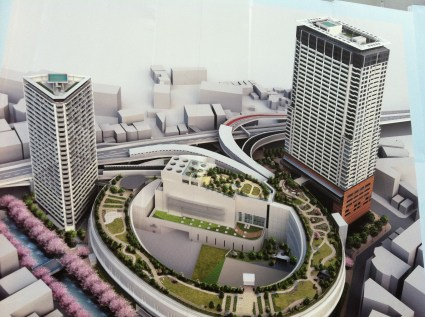 Cross air tower Meguro Sky garden plan