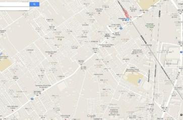 Road clearing Kokubunji map Tokyo