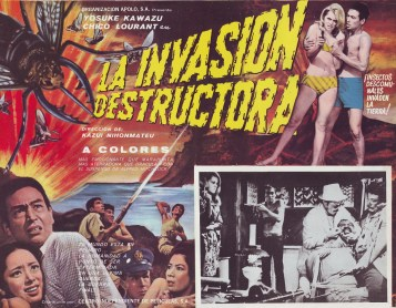 """Poster for """"Genocide"""", aka """"War of the Insects"""", with Chico Lourant."""