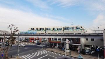 Yūkarigaoka line near station