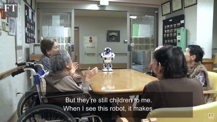 PALRO is like a kid Japanese robot 2