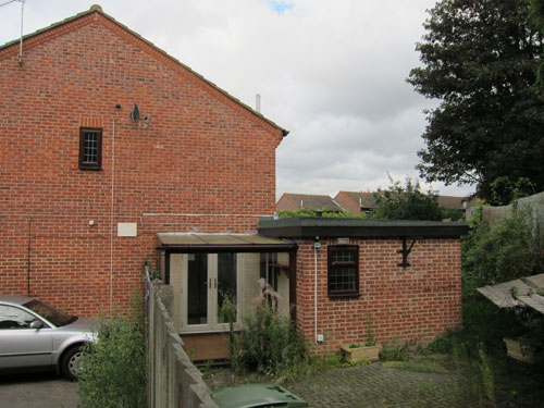 EXTENSION, BRICKWORK, PITCHED ROOF, VELUX WINDOW – MAIDSTONE, KENT