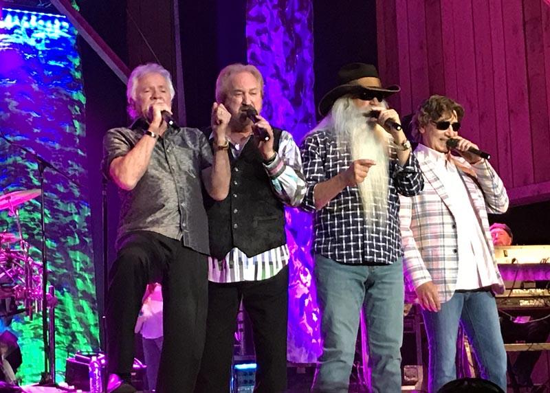 Oak Ridge Boys provide the true American standard of music in concert
