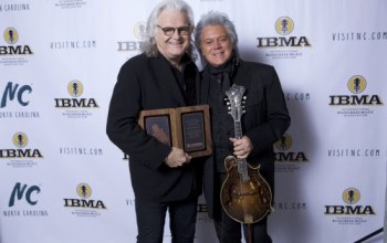 Ricky Skaggs inducted into the IBMA Bluegrass Music Hall of Fame