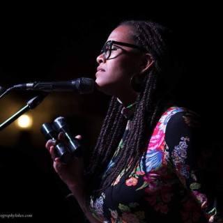 Liz Vice performing at the Levitt AMP Middlesboro Music Series - photo by Scott Lukes.
