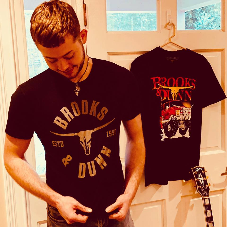 """Brooks Dunn  /""""Country Music/"""" Personalized T-shirts"""