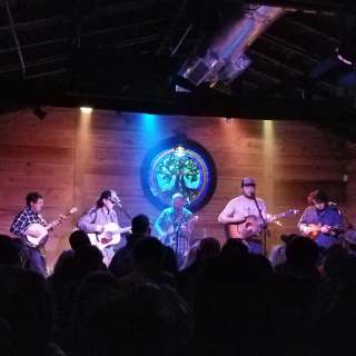 The Wooks performing at The Burl on March 2, 2019. Photo by Jon Grace.